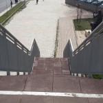Стълби за пешеходен мост пасарелка