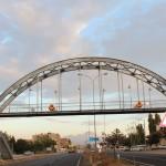 Стоманен пешеходен мост - пасарелка