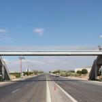 Пешеходен поцинкован мост пасарелка